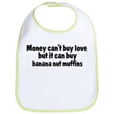 banana nut muffins (money) Bib