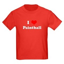 I Love Paintball T