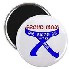 "TKD Mom Son 2.25"" Magnet (100 pack)"