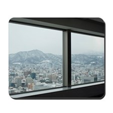 Sapporo, Japan in winter Mousepad