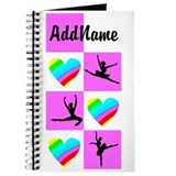 Dance personalize Journals & Spiral Notebooks