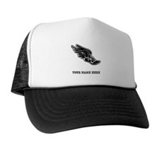 Custom Winged Running Shoe Trucker Hat