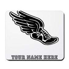 Custom Winged Running Shoe Mousepad