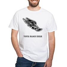 Custom Winged Running Shoe T-Shirt