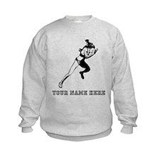 Custom Woman Sprinting Sweatshirt