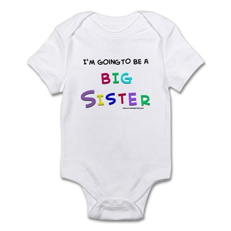 I have a secret-big sister Infant Bodysuit