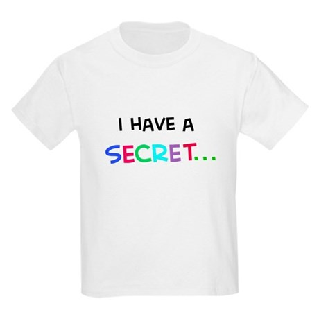 I have a secret-big sister Kids Light T-Shirt