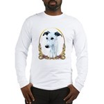 Whippet Christmas/Holiday Long Sleeve T-Shirt