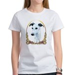 Whippet Christmas/Holiday Women's T-Shirt
