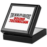 """The World's Greatest Sound Technician"" Tile Box"