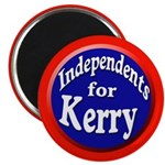 Independents for Kerry Magnets (10 pack)