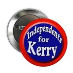 Independents for Kerry Buttons (100 pack)
