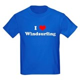 I Love Windsurfing T