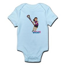 Girl's Lacrosse - Medium Infant Bodysuit
