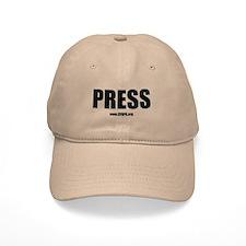 Cfapa Press Baseball Cap Khaki Or White