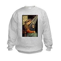 Madonna & Cavalier (BT) Kids Sweatshirt