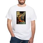 Madonna & Cavalier (BT) White T-Shirt