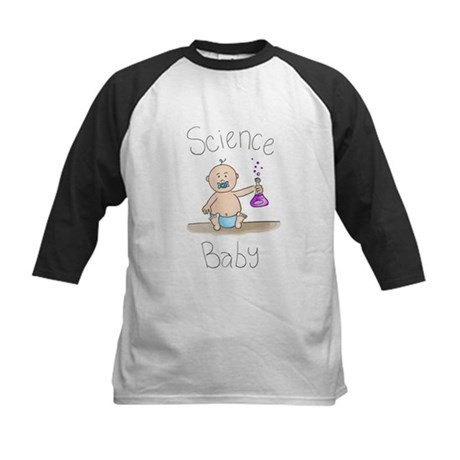 Science Baby Boy Kids Baseball Jersey
