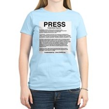 Cute Journalist T-Shirt