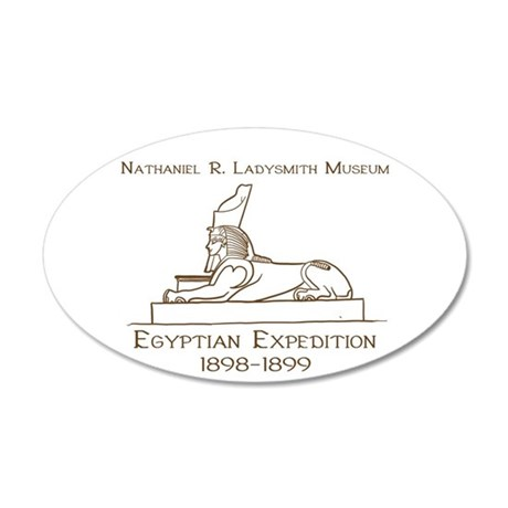 1898-1899 Egyptian Expedition Wall Decal