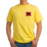 Mastin iPet Yellow T-Shirt