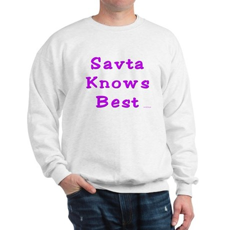 Savta Knows Best Sweatshirt