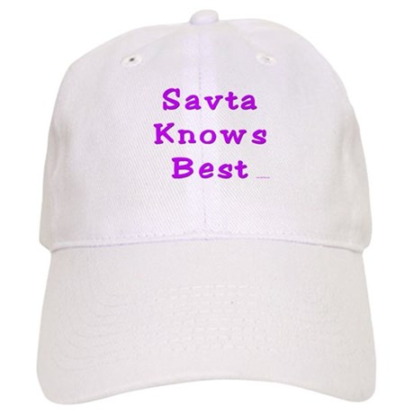 Savta Knows Best Cap