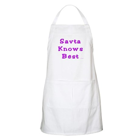 Savta Knows Best BBQ Apron