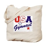 Cute Usa gymnast Tote Bag