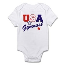 Unique Red white and blue Infant Bodysuit
