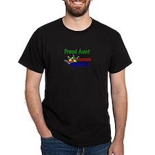 -Proud Aunt Autistic Prince T-Shirt