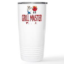 Personalized BBQ Travel Mug