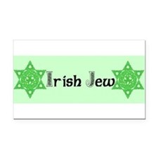 Cute Irish knotwork Rectangle Car Magnet