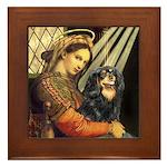 Madonna & Cavalier (BT) Framed Tile