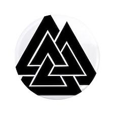 "Valknut 3.5"" Button (100 pack)"