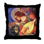 Angel (3) & Cavalier (BT) Throw Pillow
