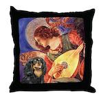 Angel (3) & Cavalier (BT) Throw Pillow