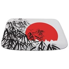Asian Sunset Bathmat