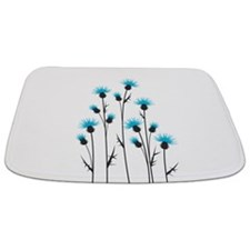 Blue Thistle Bathmat