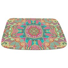Retro Pattern Bathmat