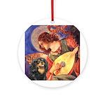 Angel (3) & Cavalier (BT) Ornament (Round)