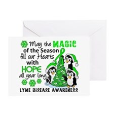 Lyme Disease Christmas P Greeting Cards (Pk of 20)