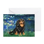 Lilies #5-Cavalier (BT) Greeting Cards (Pk of 10)
