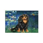 Lilies #5-Cavalier (BT) Rectangle Magnet (10 pack)