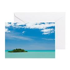 coral island Greeting Card
