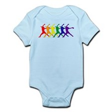 Fastpitch Pitcher Rainbow Bevel Body Suit