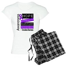 Hope Strength Sarcoidosis Pajamas