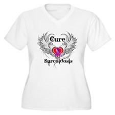 Cure Sarcoidosis Plus Size T-Shirt