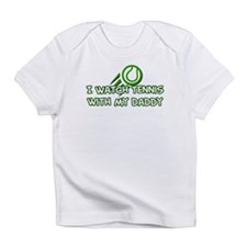 Cute Baby tennis Infant T-Shirt