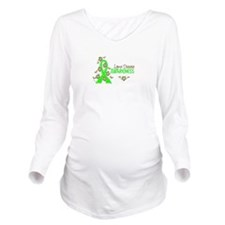 Lyme Disease Awarene Long Sleeve Maternity T-Shirt